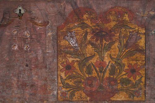 romanija,transilvanija,liaudies,etninis,tradicinis,fonas,ruda,menas,dažytos,medinis dėklas,mediena,medinis