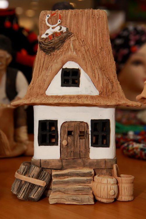 romanian folk clay romanian traditional house