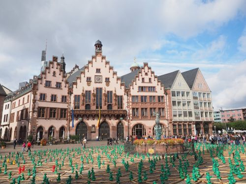 romans town hall frankfurt am main germany