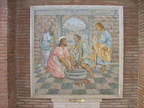 rome st peter mosaic