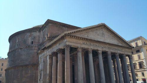 rome pantheon historic