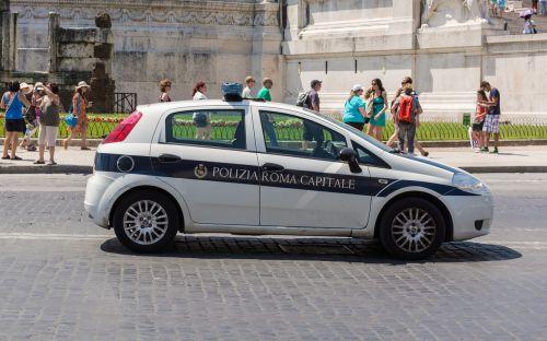 rome police italy