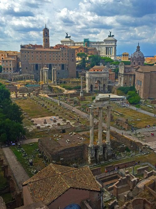 rome roman forum ancient ruins