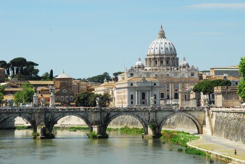 rome saint peters tiber