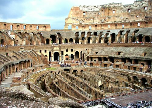 rome colosseum interior