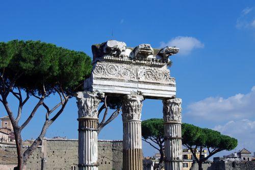 rome fori imperiali italy