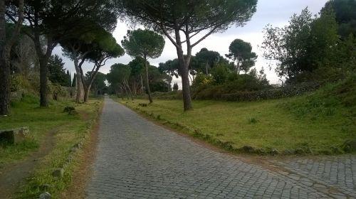 rome ruins appia antica