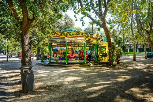 rome park carousel