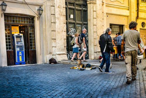rome trastevere city