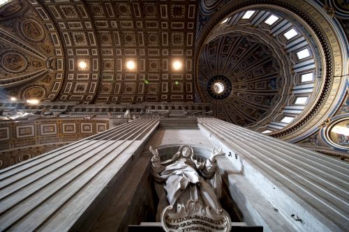 rome italy saint peter's cathedral