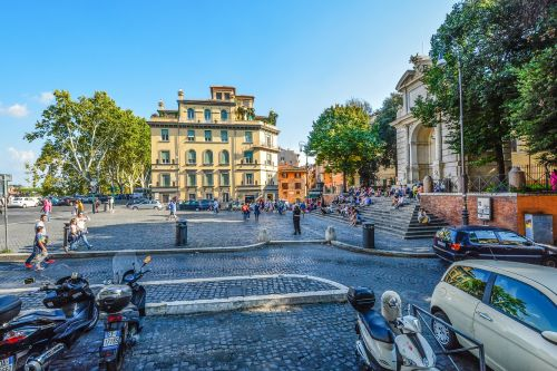 rome trastevere tourism
