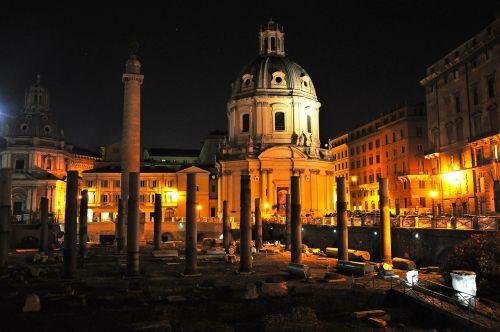 rome holes fori imperiali