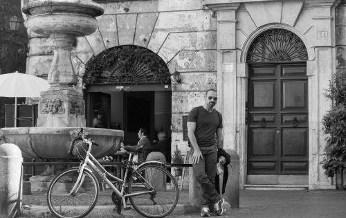 rome italy street