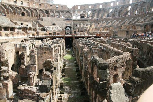 rome colosseum lower