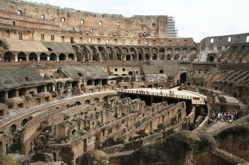 rome colosseum views
