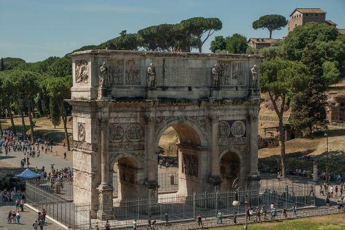 rome antique arch of constantine