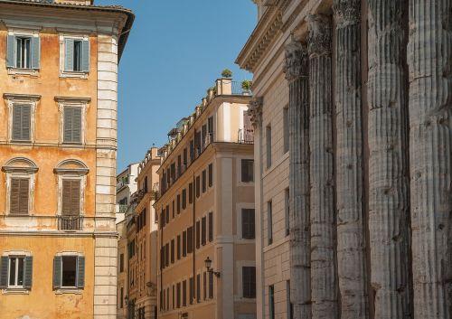 rome columns antique