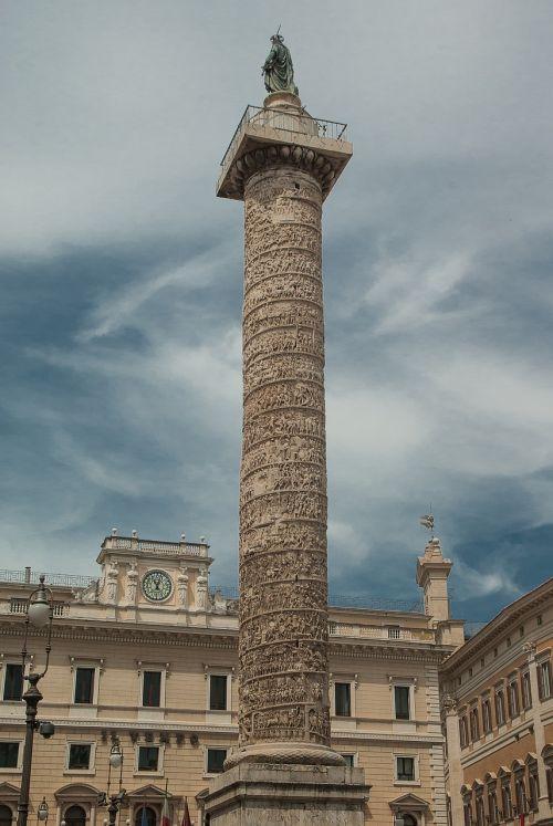 rome column marc-aurèle