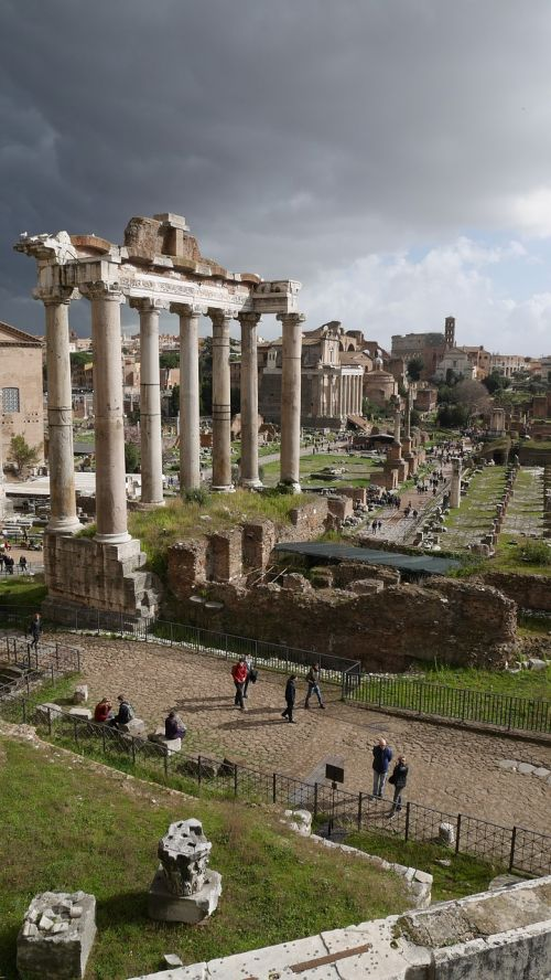 rome roma palatine hill