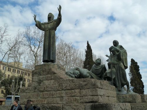 rome st francis of assisi franciscan