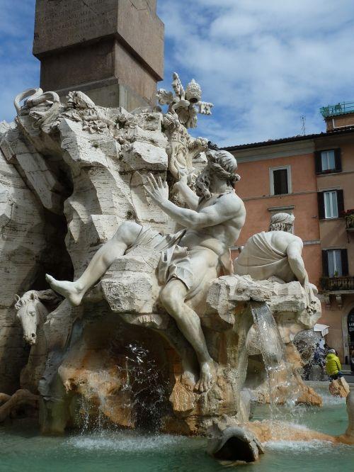 rome piazza navona 2016