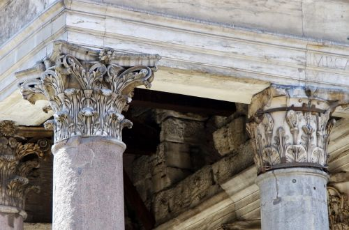 rome pantheon columns