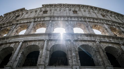 rome italy the colosseum