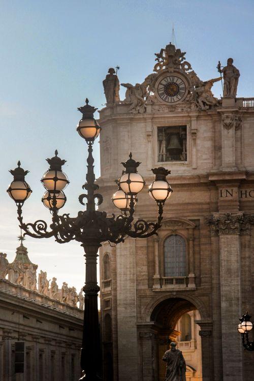 rome vatican st peter's basilica