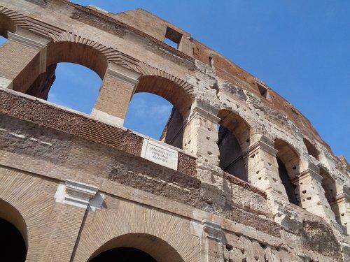 rome  monument  colosseum