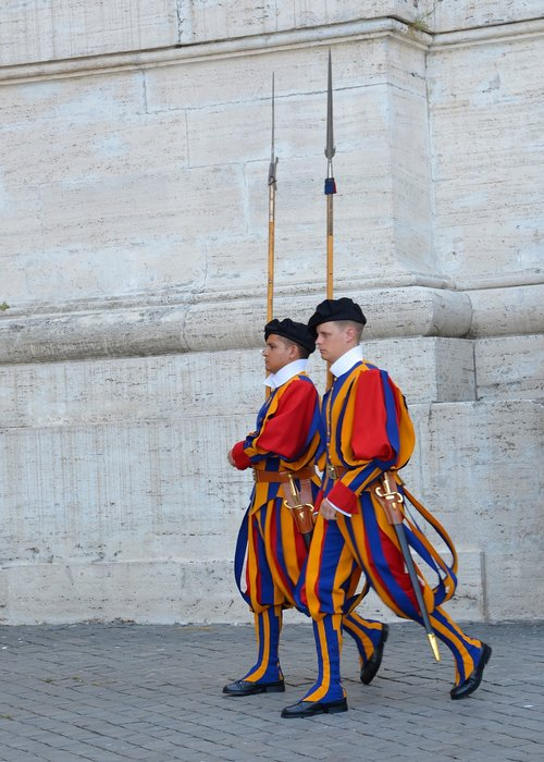 rome  swiss guard  vatican