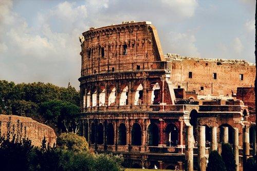 rome  amphitheater  colosseum