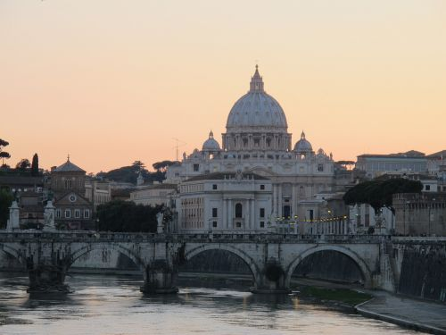 rome st peter's basilica italy