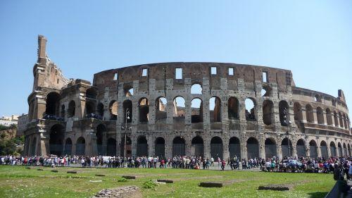rome colosseum roman coliseum
