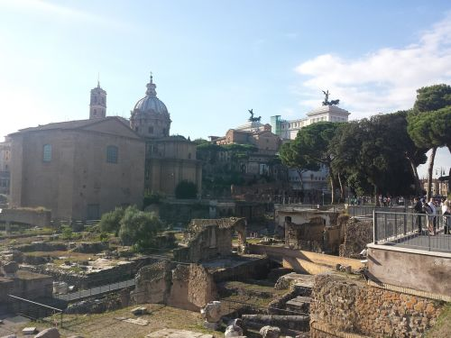 rome fori imperiali altare della patria