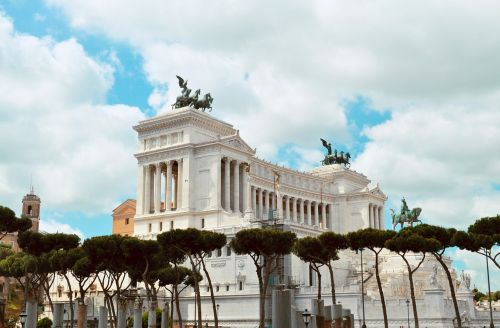 rome roma victor emmanuel monument