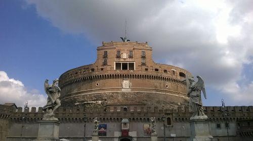 rome castel sant'angelo tiber castle