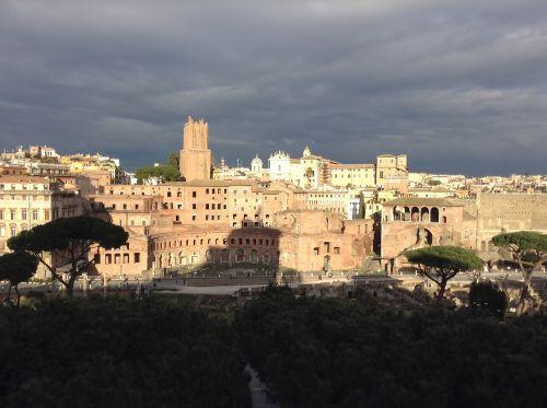 rome storm antique