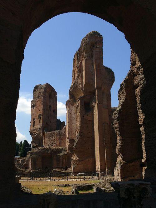 rome ruin antique