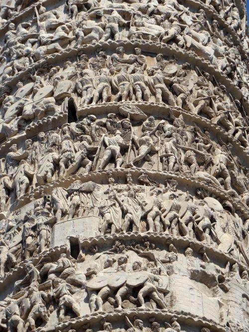 rome italy column
