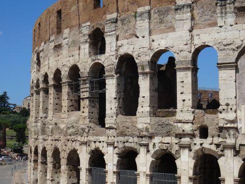 Roma,koliziejus,italy,Senovinis,paminklas,senovės architektūra,arena,arkos,arcade,architektūra