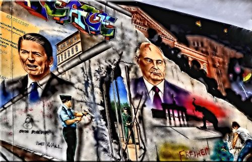 ronald reagan mikhail sergeyevich gorbachev berlin