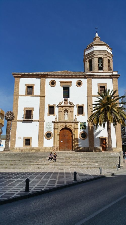 ronda ronda church church of our lady of mercy round