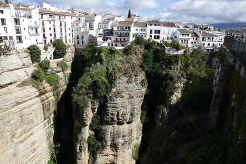 ronda  city  andalusia