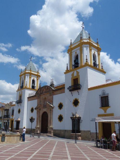 ronda marketplace church of santa maria