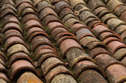 roof roof tile structure