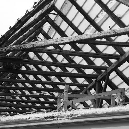 roof reconstruction farmhouse