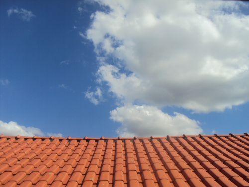 roof sky immensity