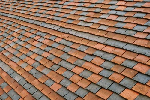 roof tiles pattern