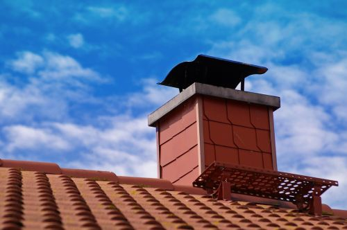roof tile red
