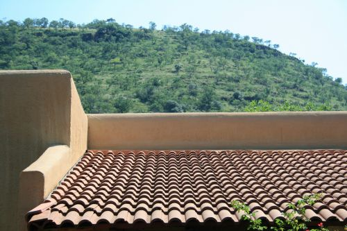 Roof Of Cottage
